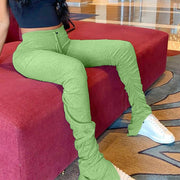 Green Stacked Leggings