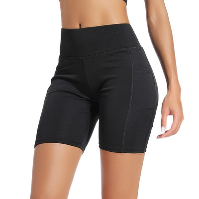 Black Women's Yoga Shorts
