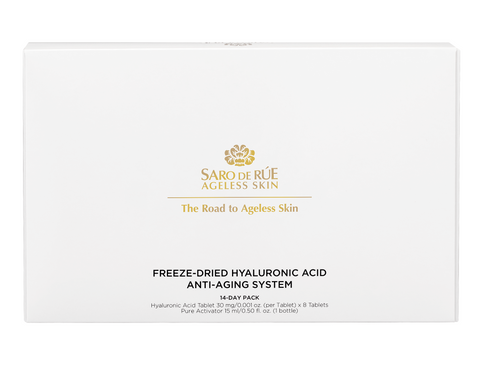 Saro de Rúe Freeze-dried Hyaluronic Acid Anti-aging System