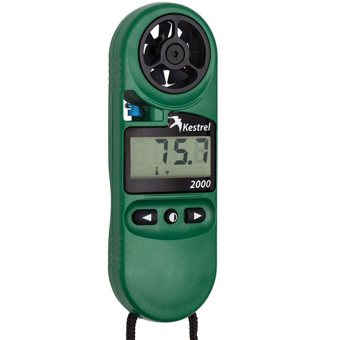 Kestrel 2000 Pocket Weather Meter - ExtremeMeters.com