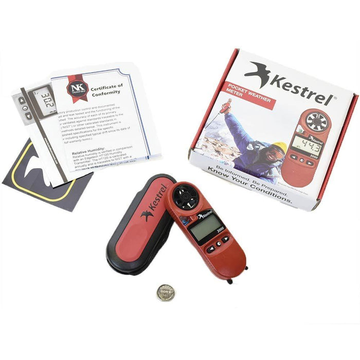 Kestrel 3000 Handheld Weather Meter - ExtremeMeters.com