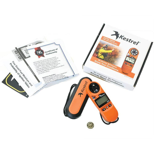 Kestrel 3500FW Pocket Fire Weather Meter (0835FWORA) - ExtremeMeters.com