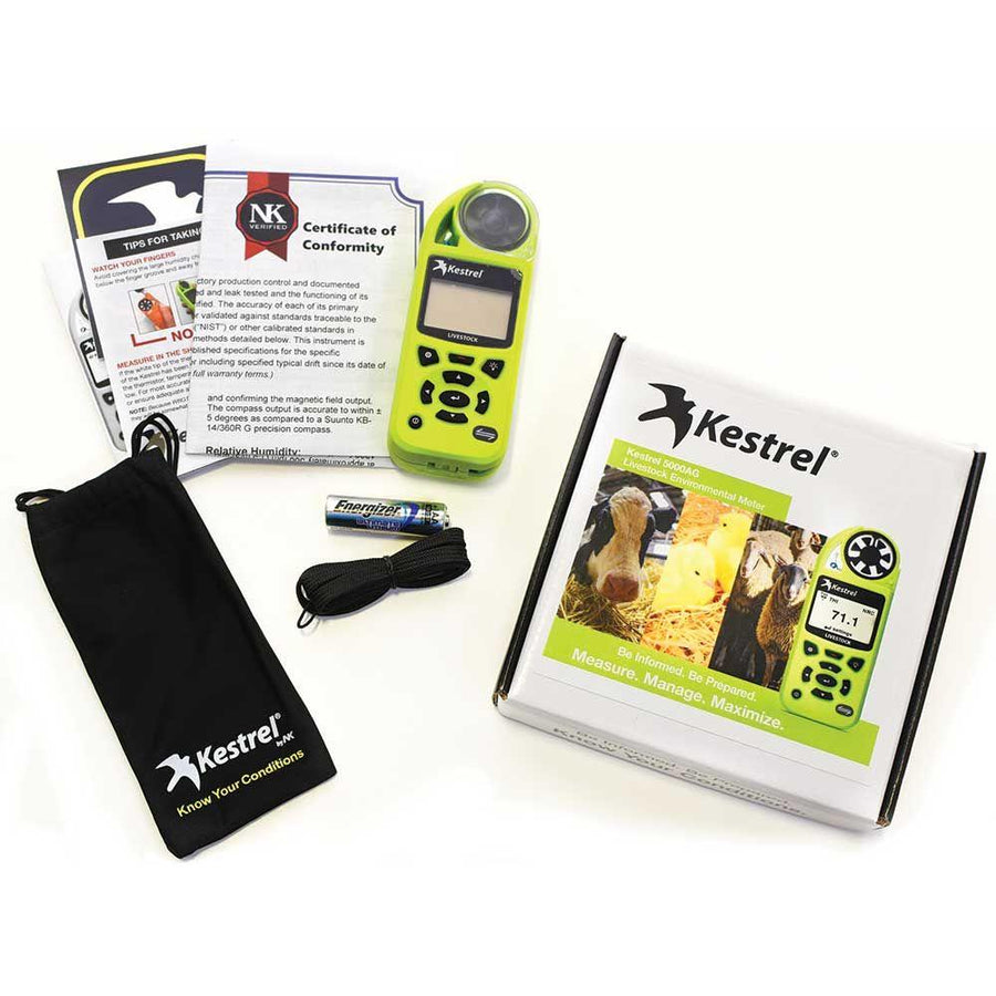 Kestrel 5000AG Agriculture and Livestock Meter with LiNK