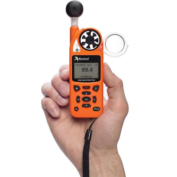 Kestrel 5400FW Fire Weather Meter Pro WBGT with LiNK Compass & Vane Mount - ExtremeMeters.com
