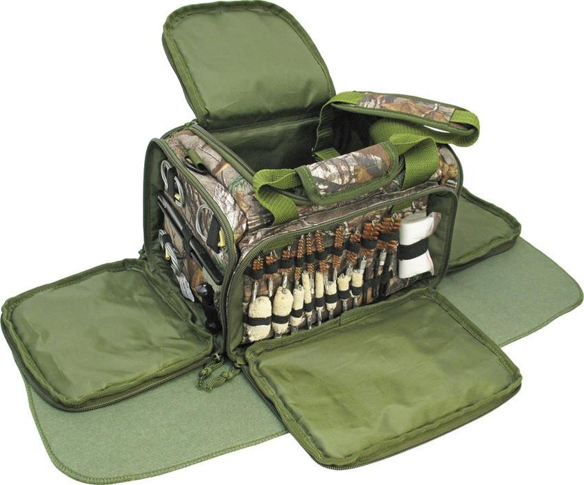 Realtree Xtra Complete Gun Care Kit in MOLLE Comatible Range Bag - ExtremeMeters.com