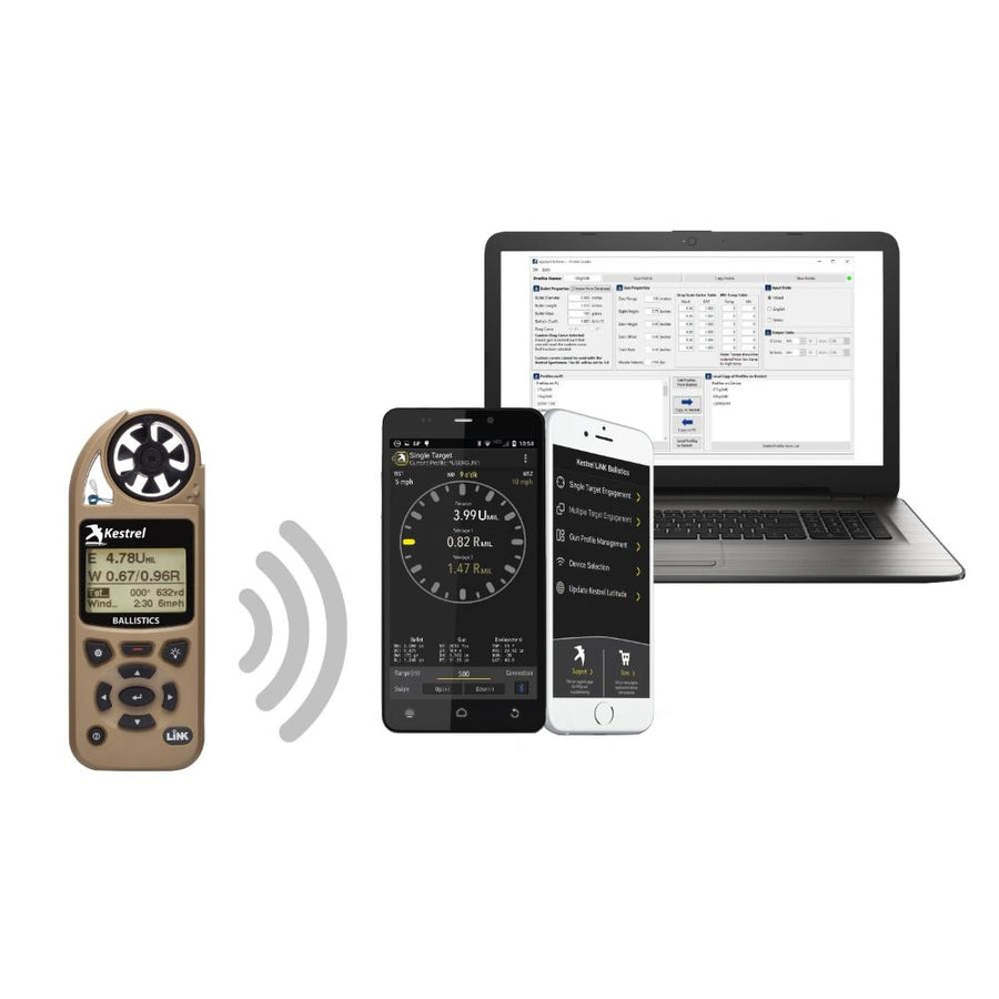 Kestrel 5700 Ballistics Weather Meter with LiNK - ExtremeMeters.com