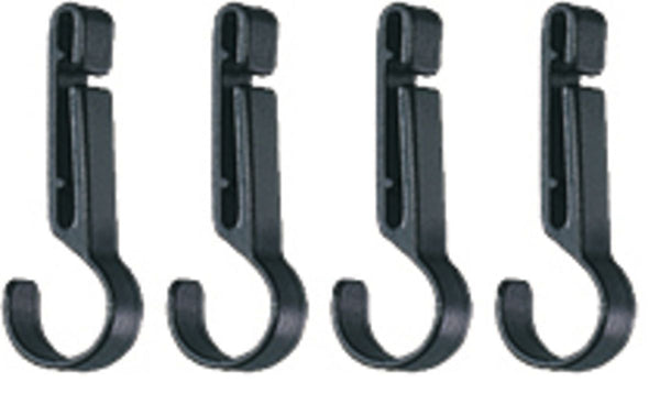 PETZL CROCHLAMP S  Headlamp clips for thin-edged helmets (pack of 4)