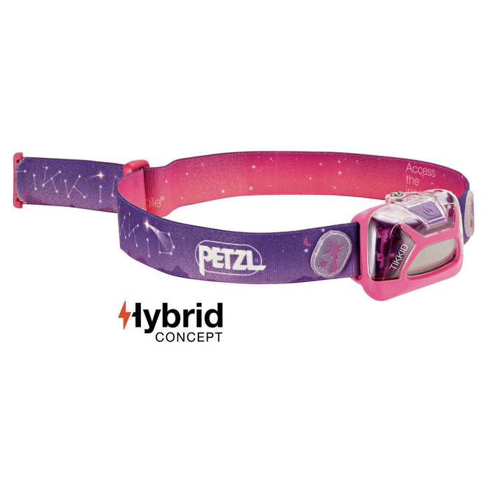 TIKKID® Compact headlamp for children in Pink