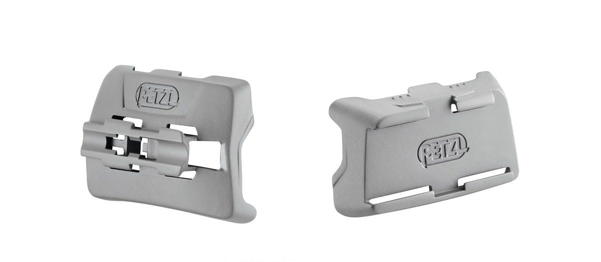 PETZL DUO Mount for caving helmet. Front and back plates