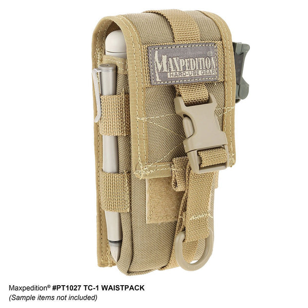 Tactical Style Case with Velcro Reinforced Buckle flap for Kestrel Meters - ExtremeMeters.com