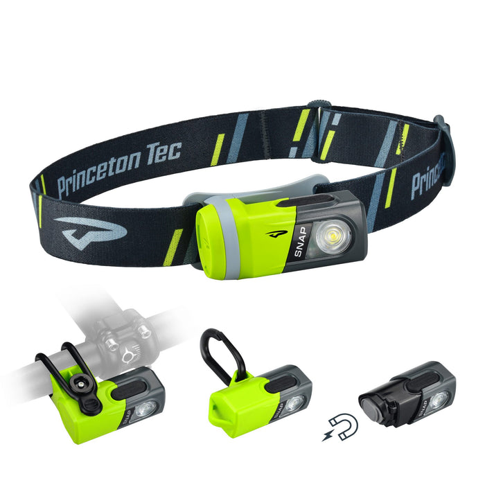 Princeton Tec SNAP Multi-purpose Headlamp | 200 Lumens
