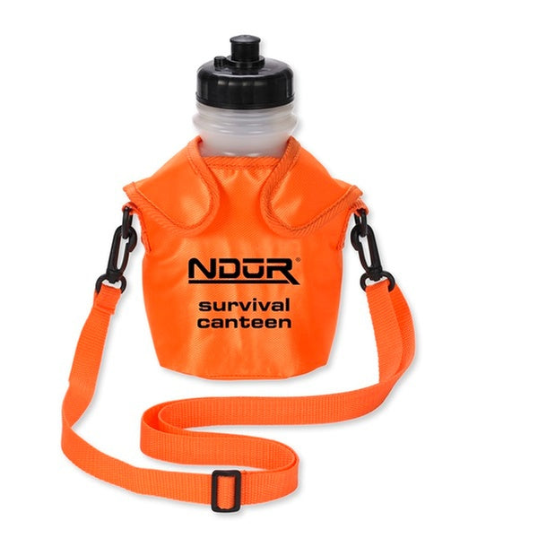 NDuR 46oz Survival Canteen with advanced Water Filter