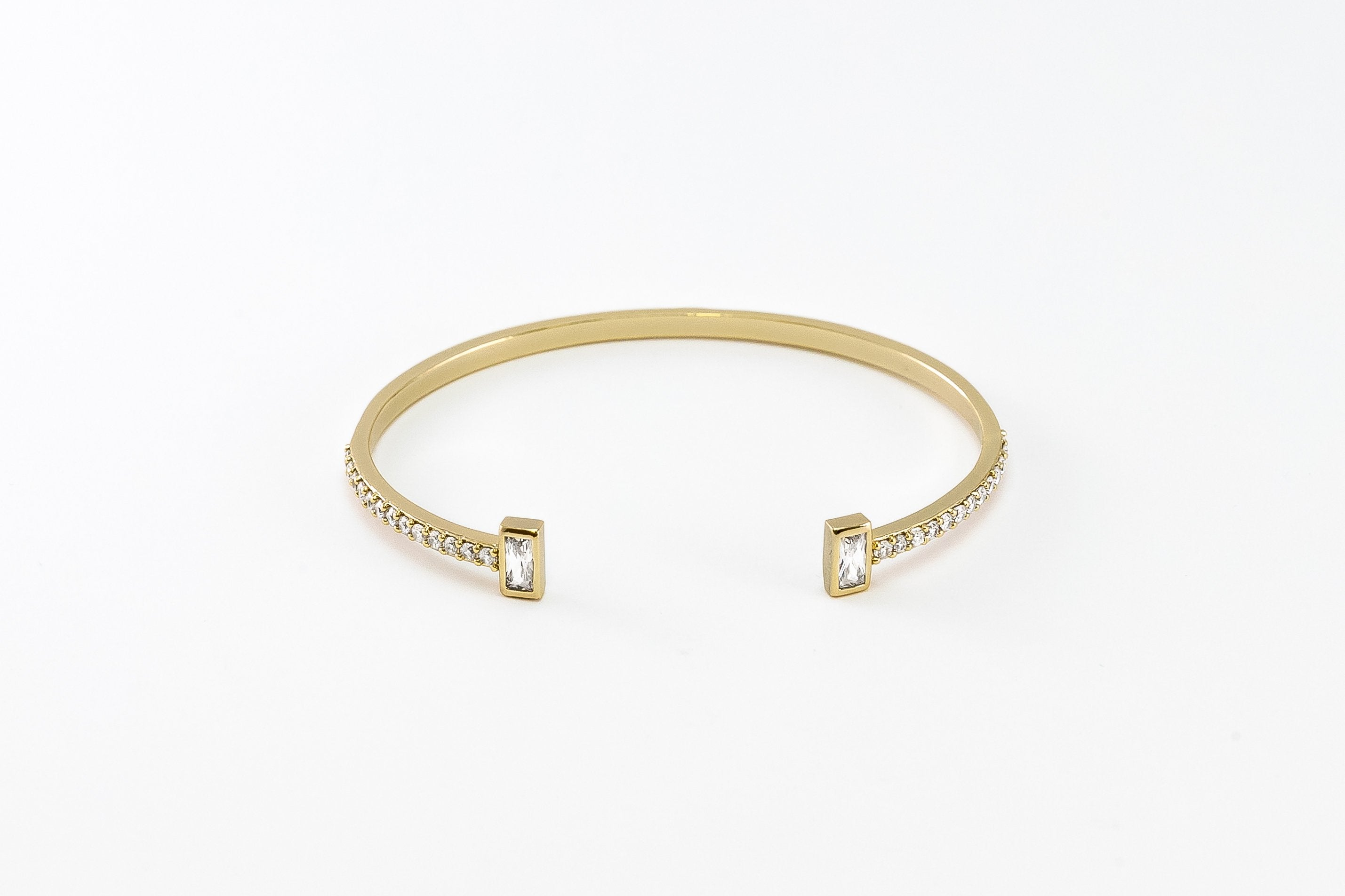 Luxe Collection Baguette Cuff