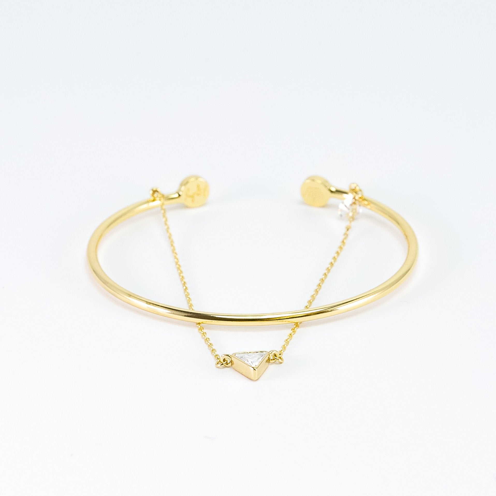 Zoe Triangle Chain & Cuff