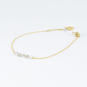 Estee Collection Fixed Cluster Clasp Bracelet