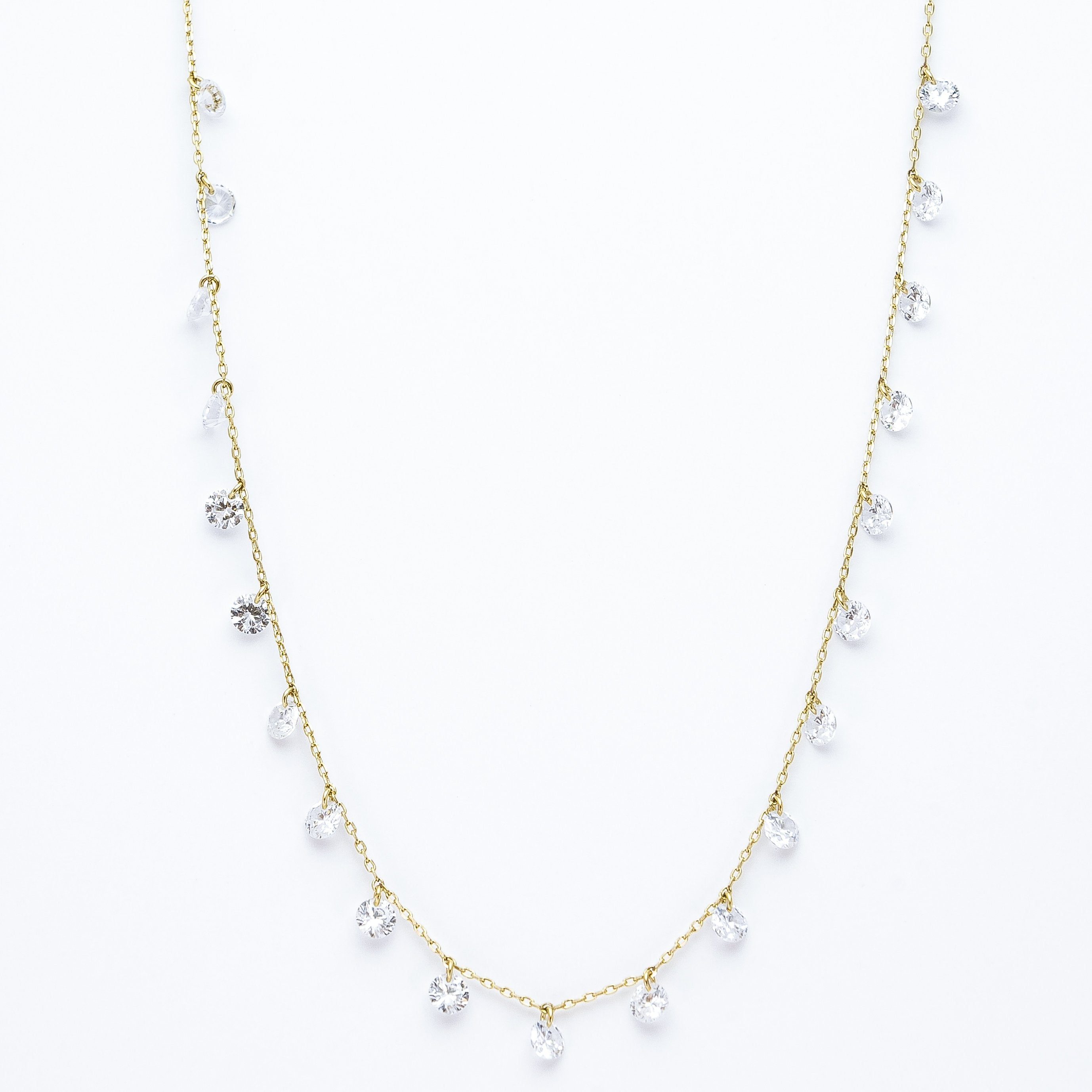 Estee Collection Multi Fixed Necklace