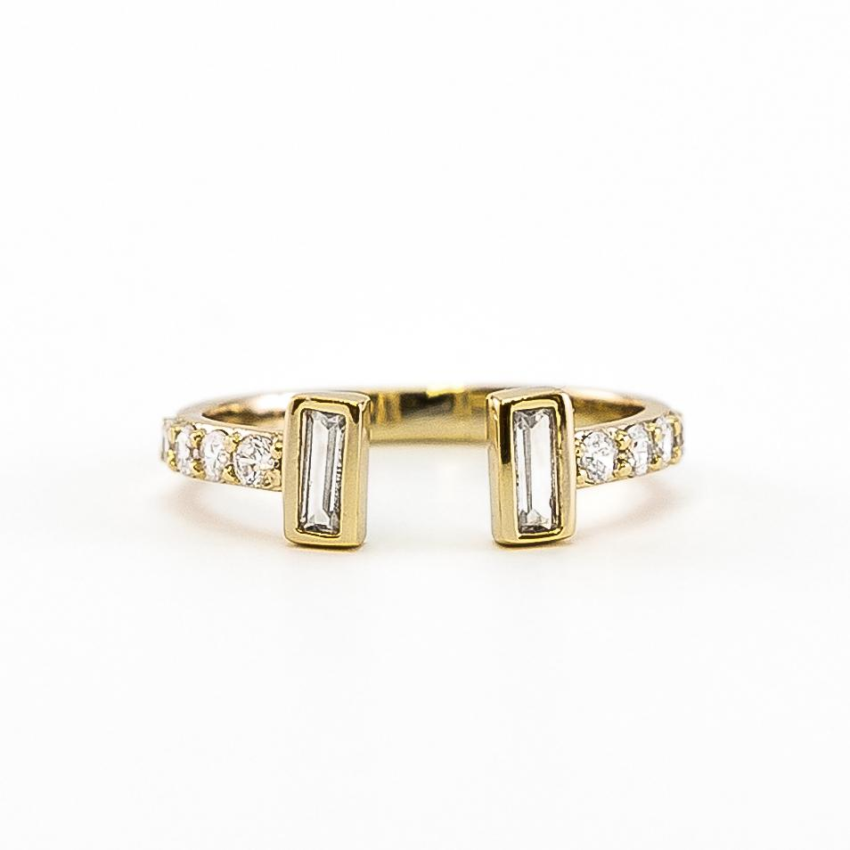 Luxe Collection Baguette Ring