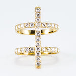Load image into Gallery viewer, Luxe Collection Double Pave Ring