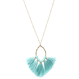 Olivia Tassel Necklace