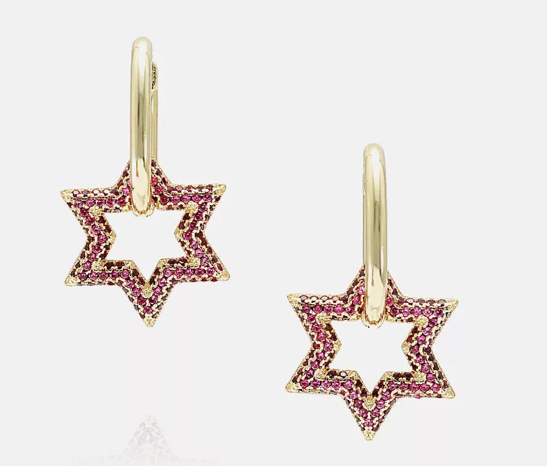STARINA PAVE DROP EARRING
