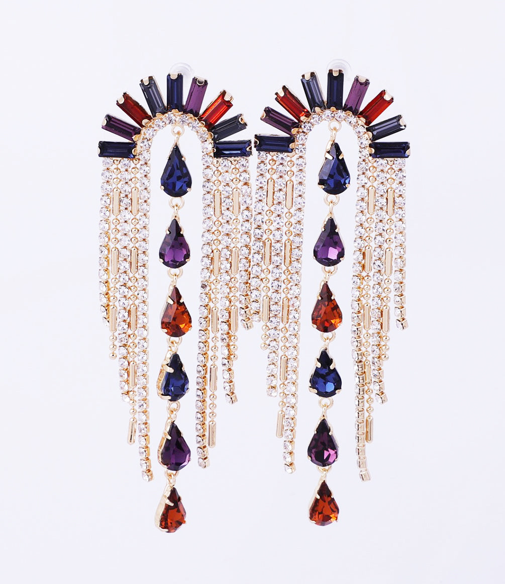 VIVIENNE STATEMENT EARRING