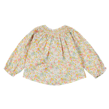 Griotte Camelia Smocked Blouse