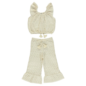 Luna Crochet Tank and Pants Set