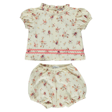 Laura Floral Baby Set