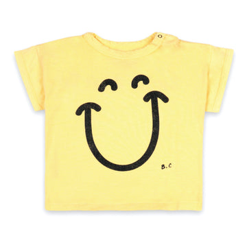 Short Sleeve Big Smile Baby T-Shirt