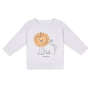 Pet a Lion Baby Long Sleeve T-Shirt