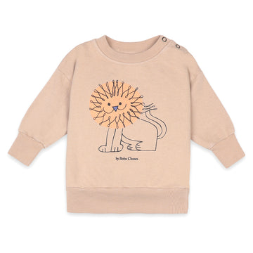 Pet a Lion Baby Sweatshirt