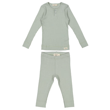Ribbed Sage Green Set