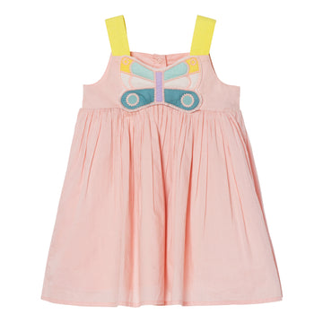 Baby Butterfly Patch Dress & Bloomers