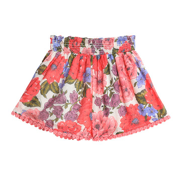 Poppy Shirred Waist Short