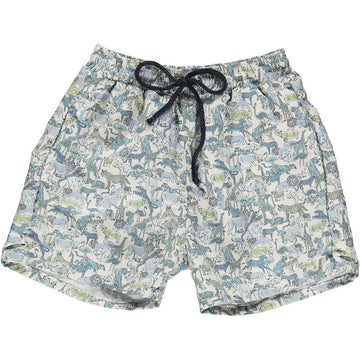 Alexander Swim Trunks Safari Blue