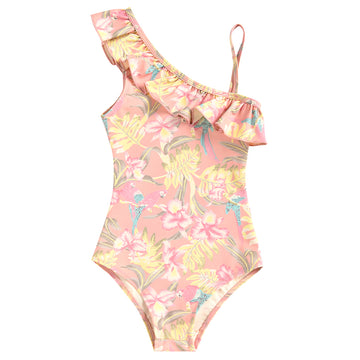 Audrey Sienna Parrots Bathing Suit