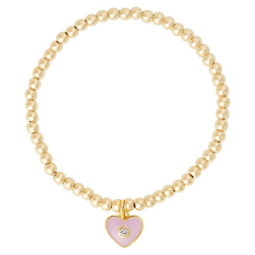 Kids Exclusive Pink Heart Bracelet