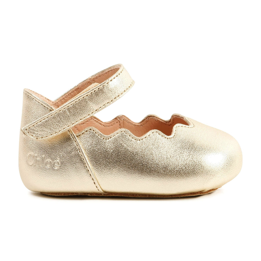 Scalloped Ballerina Shoe