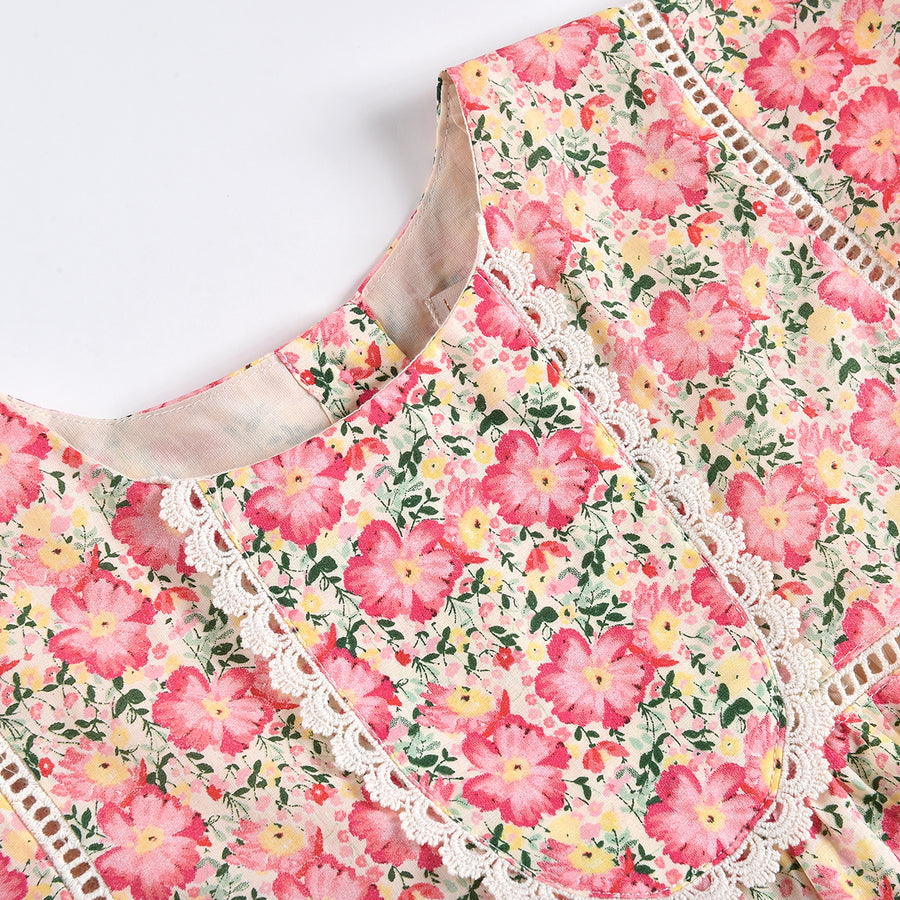 Christina Pink Meadow Dress