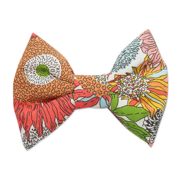 Fuschia Liberty Print Bow