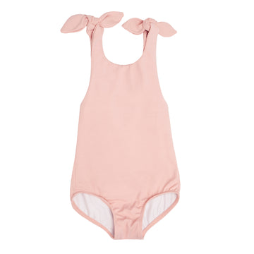 Pink Tie Knot One Piece
