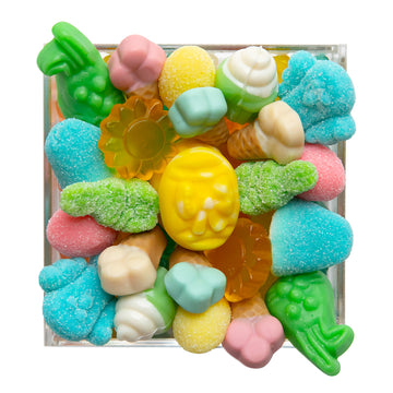 Pastel Garden Micro 4x4 Candy Filled Board