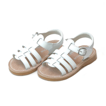 Toddler Saylor White Fisherman Sandal