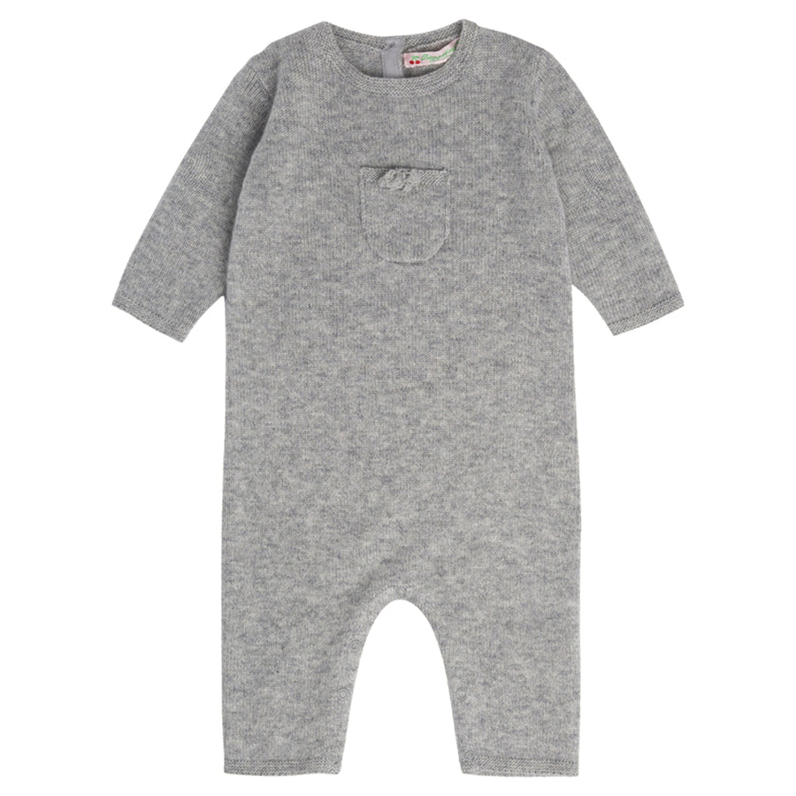 Heathered Grey Cashmere Playsuit