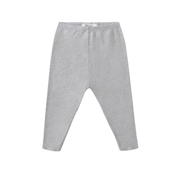 Heathered Grey Baby Leggings
