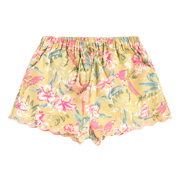 Vallaloid Soft Honey Parrots Shorts