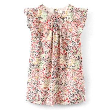 Nilunea Raspberry Floral Dress