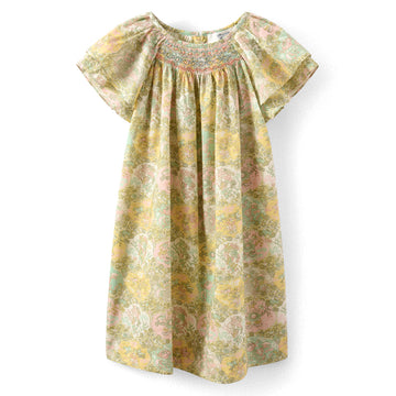 Salome Floral Smocked Dress