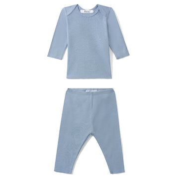 Blue Two Piece Pajama Set