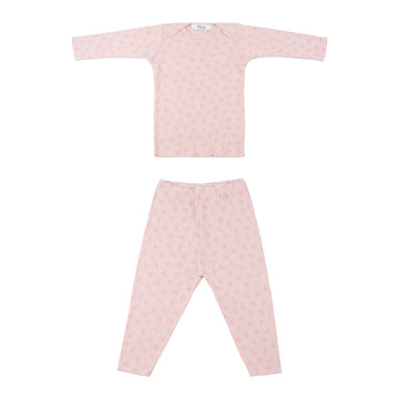 Rose Petal Two Piece Pajama Set
